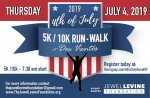 2nd Annual 4th of July 5K/10K Run-Walk at Dos Vientos