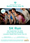 SnackNation Better Every Day 5k and Wellness Festival